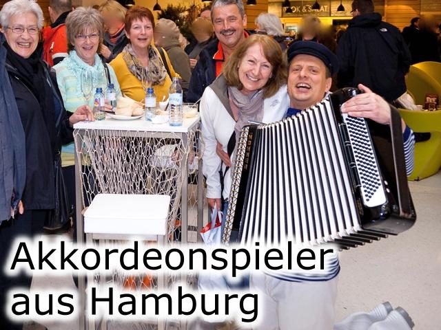 Akkordeonspieler Hamburg
